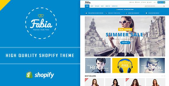 Fabia - Responsive Shopify Theme            TFx