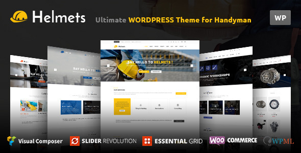 Helmets - Responsive Business theme for companies            TFx