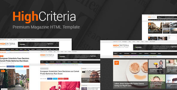 HighCriteria - Clean Multipurpose Magazine HTML            TFx