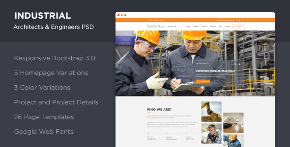Industrial - Architects & Engineers PSD            TFx