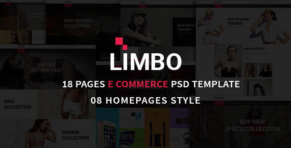 Limbo eCommerce PSD Template            TFx