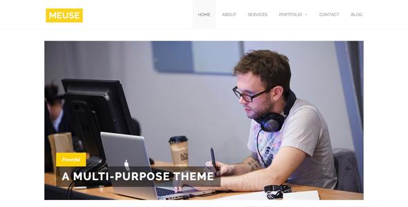 Meuse - Multi-Purpose HTML Theme            TFx