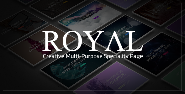 Royal - Creative Coming Soon Template            TFx