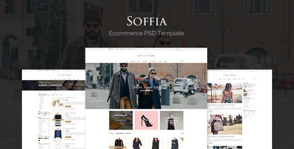 Soffia - eCommerce PSD Template            TFx