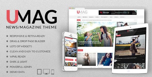 UMag - Responsive WordPress News / Magazine Theme            TFx