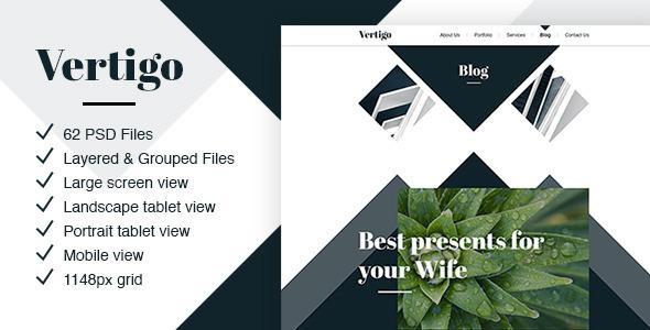 Vertigo - Creative Theme for Agencies & Companies            TFx