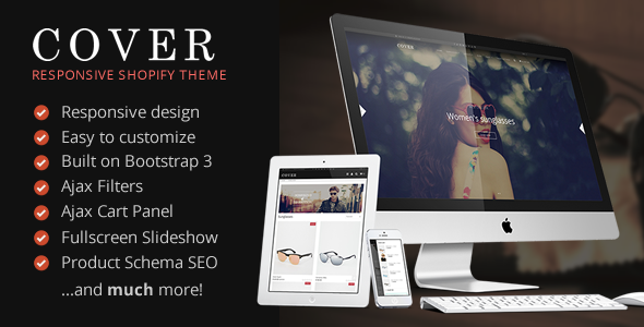 Cover - Responsive Shopify Theme            TFx