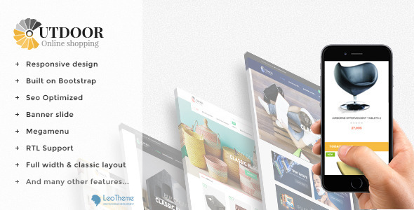 Leo Out Door Responsive Prestashop Theme            TFx