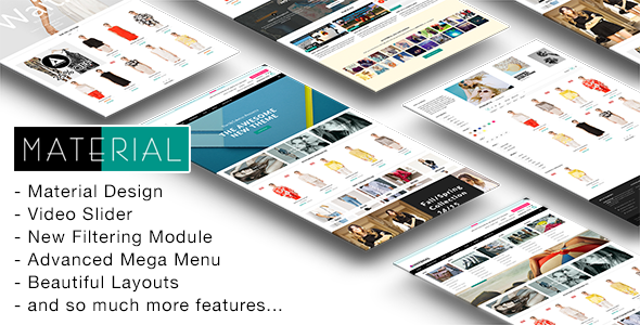 Material - Responsive Shopify Theme            TFx