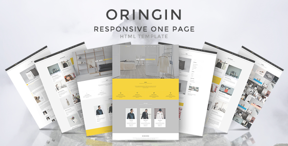 Oringin - Onepage HTML5 Template            TFx