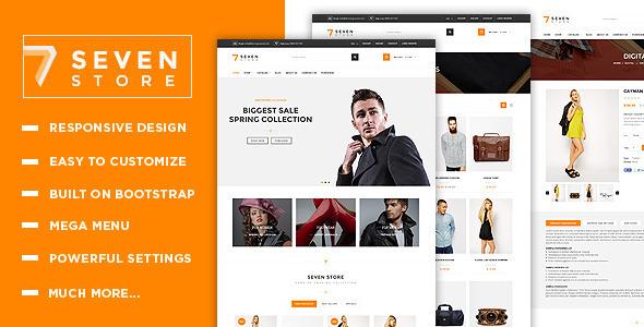 Seven Store - Responsive Shopify Theme            TFx