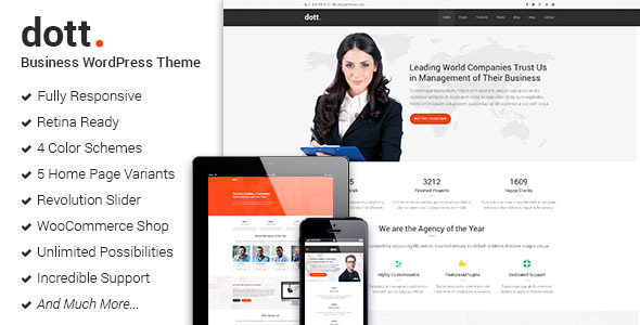 Dott - Business WordPress Theme            TFx