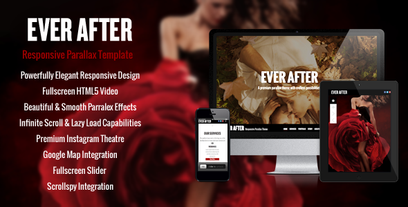 Ever After – OnePage Parallax Concrete5 Theme            TFx
