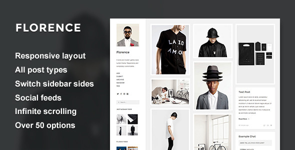 Florence - Responsive Gallery Theme            TFx