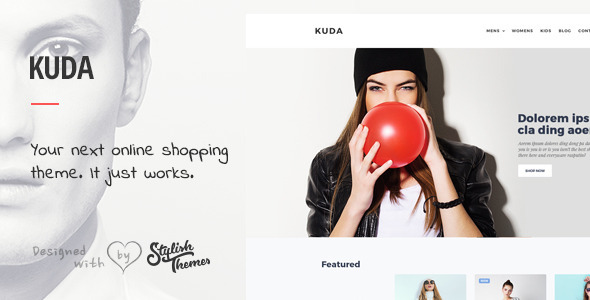 KUDA - Your Next Online Shopping Template            TFx