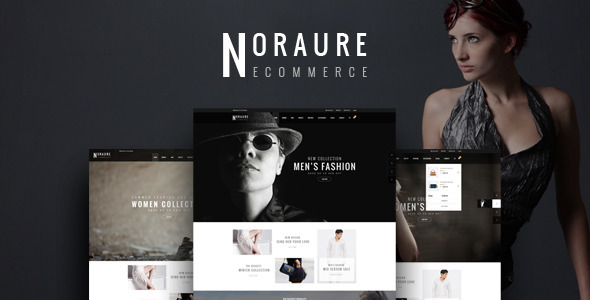 NORAURE - PSD eCommerce Template            TFx