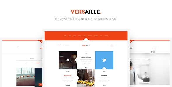 Versaille - Personal Blog PSD template            TFx