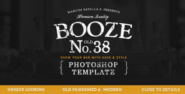 Booze Photoshop Bar Template            TFx