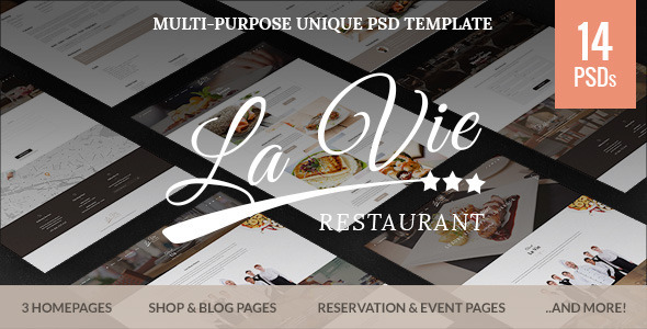 Catering - Restaurant & Cafe PSD Template            TFx