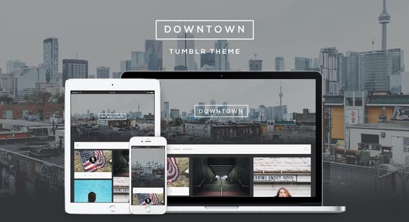 Downtown - Responsive Grid Theme            TFx