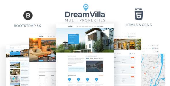 DreamVilla - Real Estate HTML Template            TFx