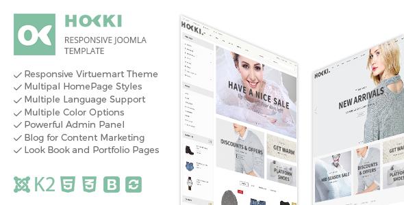 Hoki - Responsive Joomla Virtuemart Template            TFx
