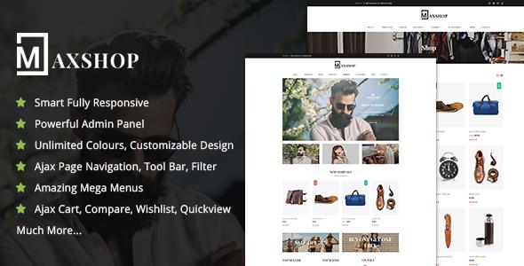 Maxshop Responsive Shopify Theme            TFx