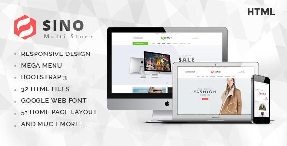 Sino - Multi Store eCommerce Template            TFx