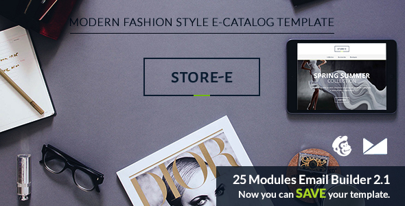 Store-e Email Template + Emailbuilder 2.1            TFx