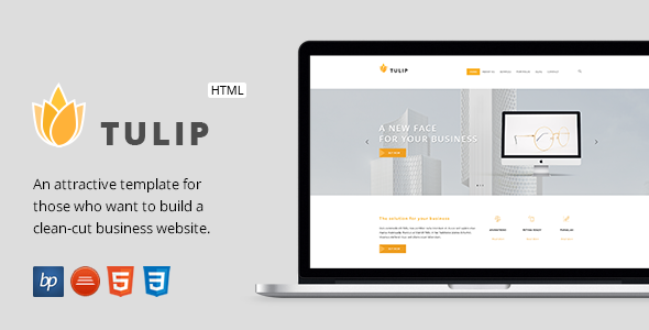 Tulip - Responsive Business HTML5 Template            TFx