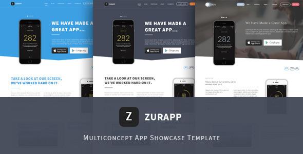 ZurApp - Multiconcept App Showcase Template            TFx