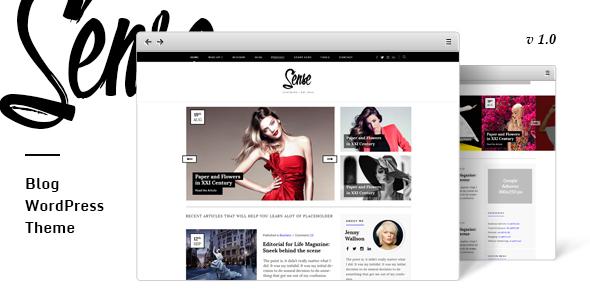 Sense - Authority Blog WordPress Theme            TFx