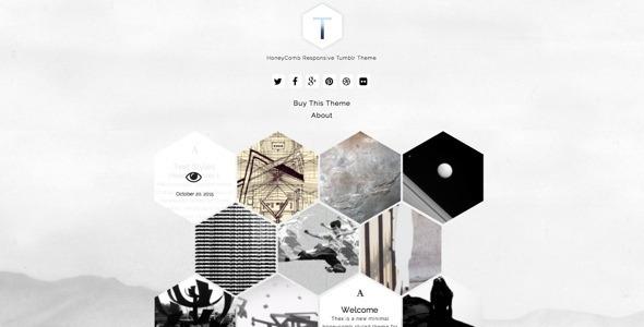 Thex - HoneyComb Responsive Tumblr Theme             TFx