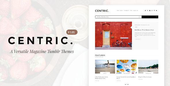 Centric | A Versatile Tumblr Themes            TFx