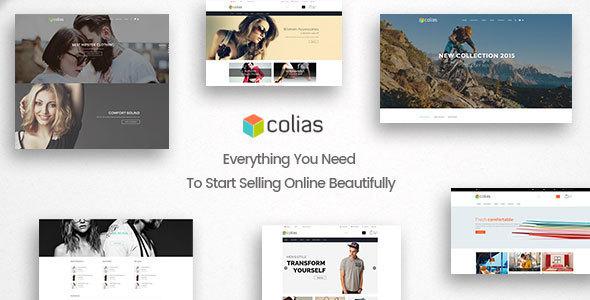 Colias - Responsive Shopify Theme            TFx