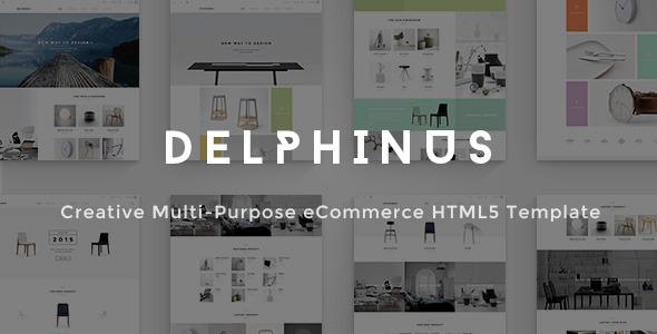 Delphinus - Creative Multi-Purpose eCommerce HTML5            TFx