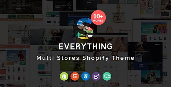 Everything - Multipurpose Responsive Shopify Theme            TFx