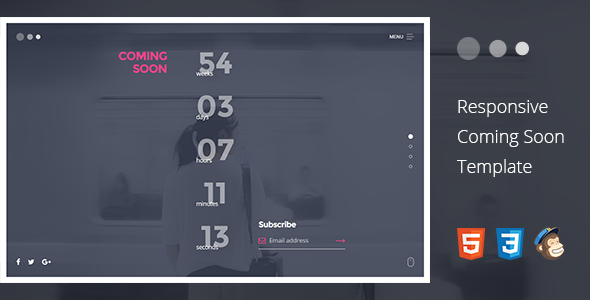 Lemmy - Responsive Coming Soon Template            TFx