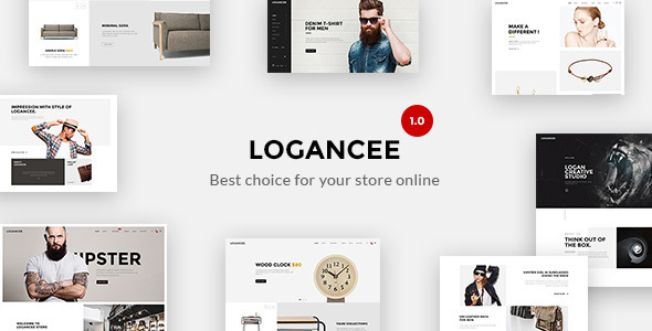 Logancee – Responsive Ecommerce Shopify Template            TFx