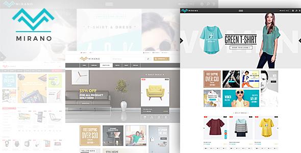 Mirano - Responsive eCommerce HTML5 Template            TFx