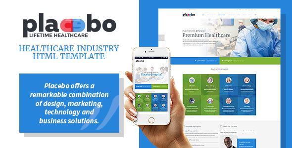 Placebo - Healthcare Industry HTML Template            TFx