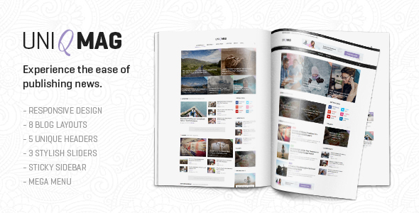 UniqMag - Ease of Publishing News            TFx
