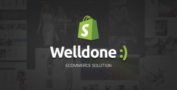 Welldone - material responsive Shopify theme            TFx