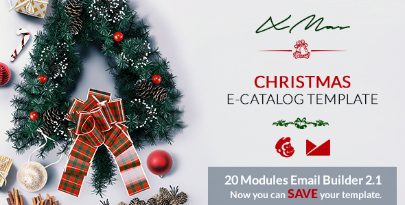 XMas Email Template + Online Emailbuilder 2.1            TFx