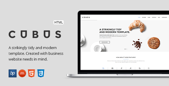 Cubus - Responsive Business HTML5 Template            TFx