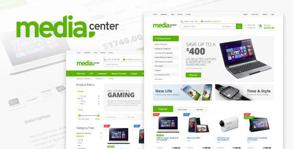 Electronics Store Responsive Shopify Theme - MediaCenter            TFx