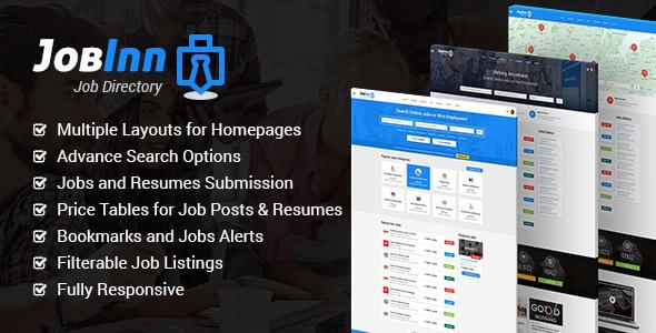 JobInn - Job Board & Directory HTML Template            TFx