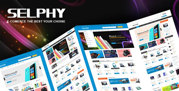 Selphy - Mega Shop Responsive Magento Theme            TFx