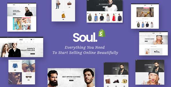 Soul - Responsive Shopify Theme            TFx