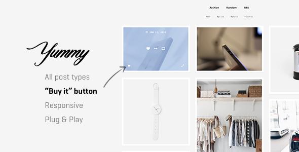 Yummy | Creative Multi-Purpose Portfolio Tumblr Theme            TFx